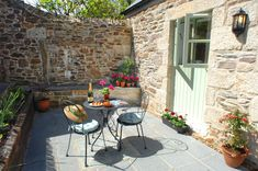 Charming Country Patio