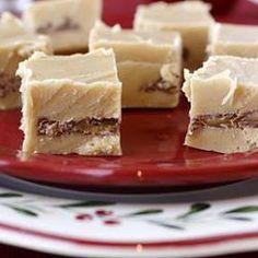 Triple Layered White Chocolate Fudge @ allrecipes.co.uk