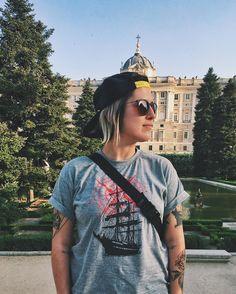 yellowmellowmg       Nuevas camis con el pedazo de diseño de @prada_tattoo de mi tatuaje!! El barquito!!