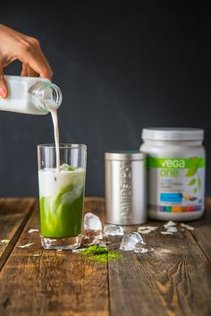 Need a boost? Check out this delicious tasting Matcha Coconut Frappe from @vegateam!