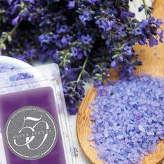 Relaxing Sea Lavendar | Lavendar can be both uplifting and relaxing. This fragrance is commonly used for restlessness, insomnia, nervousness, and depression.