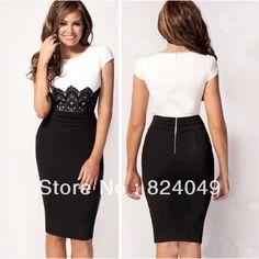 vestidos elegantes cortos 2014