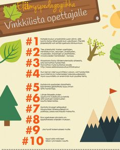 elämyspedagogiikka_vinnkilista Outdoor Education, Home Economics, School Themes, Early Childhood Education, Environmental Science, School Classroom, Social Skills, Mathematics, Fun Facts