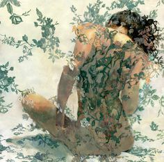 Saatchi Online Artist: Sergio Lopez; Gouache, Painting Reve DOr