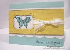 SU Papillion Potpourri, Sweet Essentials, Woodgrain, Large Scallop Edgelit, Delicate Butterfly Punch, Decorative Label Punch