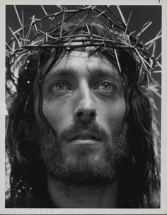 "Robert Powell in ""JESUS OF NAZARETH"" (1977) ; Franco Zeffirelli"