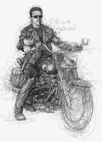 Por el Amor del Art-E: El arte del garabato Drawing Sketches, Pencil Drawings, Art Drawings, Drawing Portraits, Vince Low, Art Du Monde, Scribble Art, Celebrity Portraits, Pen Art