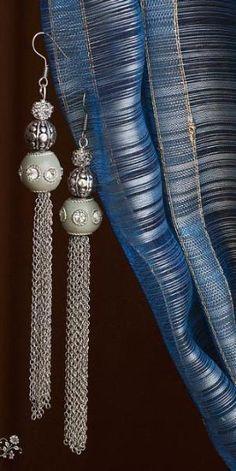 Handmade Tassel Earrings by wanting