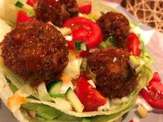 Fűszeres sajtos-húsos fasírtgolyócskák Beef, Ethnic Recipes, Food, Meat, Essen, Ground Beef, Yemek, Eten, Steaks