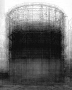 Homage to Bernd and Hilla Becher, 2007  digital bromide print mounted on rag board  34 x 30 inches (86.4 x 76.2 cm)  edition of 6 with 1 AP