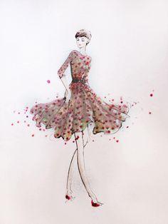 PaperFashion: Illustrating Your Favorite Runway Looks - Skillshare