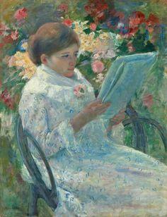 Mary Cassatt American, 1844-1926, On a Balcony