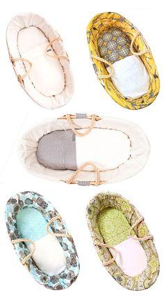 Bebelicious designer baby moses baskets - bassinets