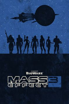 Mass Effect 3 Movie Poster by William Henry
