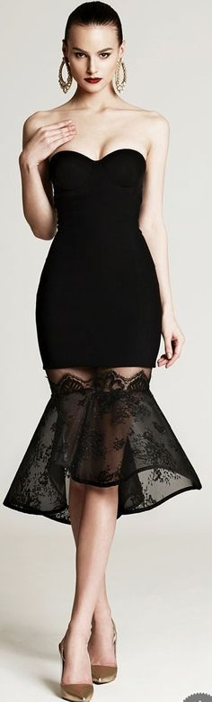 Black Cocktail Short Sleeveless Party Gown | You can find this at => http://feedproxy.google.com/~r/amazingoutfits/~3/z1TxQ4EZz3w/photo.php
