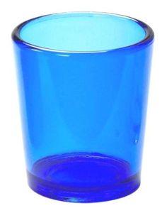 Amazon.com: Biedermann & Sons 12 Glass Votive Candle Holders In Cobalt Blue: Home & Kitchen