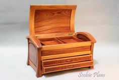 DYI - Woodwork Plans - Document Box  - SCOBIE PLANS