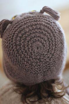 OWL WAYS Hat Knitting Pattern Toddler Child Adult por KatyTricot