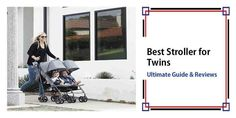Best Stroller for Twins in 2017 Guide From A Mom! Best Twin Strollers, Cheap Baby Strollers, Baby Girl Strollers, Double Baby Strollers, Toddler Stroller, Jogging Stroller, Pram Stroller, Running Strollers, Uppababy Stroller