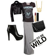 Rocker chic I WANT this outfit!!!!