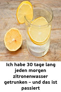 Ich habe 30 tage lang jeden morgen zitronenwasser getrunken – und das ist passiert I Have Drinked Lemon Water For 30 Days Every Day – And That Has Happened # Entsäuernkörper and fitness Lemon Water Before Bed, Hot Lemon Water, Sugar Detox Recipes, Healthy Diet Recipes, Daily Health Tips, Health And Wellness, Drinking Lemon Juice, Lemon Juice Benefits, Wellness