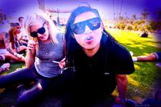 Ellie Goulding & Skrillex... Best celeb couple... Now make a song together already.