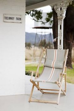 Mudgee Accommodation From Australia's Outdoor Chairs, Outdoor Furniture, Outdoor Decor, Australian Homes, Country Style, Simple Style, Interior Styling, Modern Farmhouse, Cosy