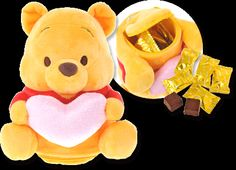 Winnie The Pooh Valentines Day Gift (with chocolate)