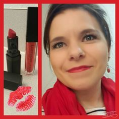 My perfect red lip combo...Lucrative Lip Gloss in Luscious and our Opulence Lipstick in Stinkin' Rich. www.golashfabulous.com
