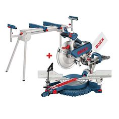 Bosch Gcm12sd Professional 12'' Sliding Compound Mitre Saw 240v & Stand