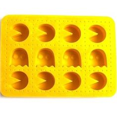 Esta forma multiuso com as figuras do Pac Man. | 38 itens que vão levar todos os nerds para a cozinha