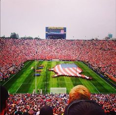 That is the most red you will EVER see in Michigan Stadium! #ICC2014 Thanks to erinlathrop on Instagram for this photo
