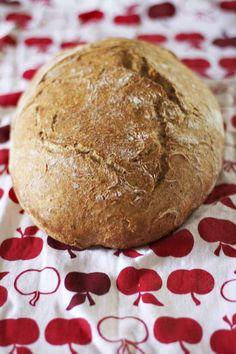 AZ Cookbook - Food From Azerbaijan & Beyond » No-Knead Bread - Whole Wheat or White