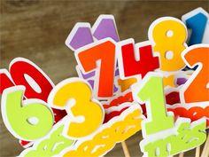 Topo de bolo mesversário Colorido » Mesversário » Estúdio Tuty