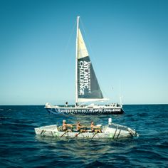 2011 - 1st Row 2 Recovery crew racing in the Talisker Atlantic Challenge.