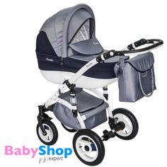 Kinderwagen Evado 3in1: Babywanne, Buggy, Autositz - dunkelblau + karo  http://www.babyshop.expert/Kinderwagen-Evado-3in1-Babywanne-Buggy-Autositz_15  #babyshopexpert #kombikinderwagen #kinderwagen