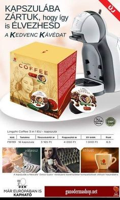 We are glad to announce the new DXN Ganoderma Coffee Capsules in Europe. DXN Lingzhi Coffee 3 in 1 EU and Lingzhi Black Coffee are available in capsules. Nescafe, Black Coffee, Nespresso, Coffee Maker, Europe, Van, Products, Coffee Maker Machine, Coffee Percolator