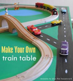 ... make your own train table make your own train table from reasons