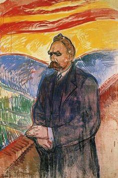 Neitzsche by Munch