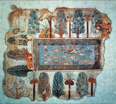 The question remains which of the Ancient Cultures (Egyptians, Asians, South American Indians) started practicing their own form of AP first? This is from Nebamun's tomb (Egypt) showing tilapia being kept in ponds with trees and plants growing in and around the pond.