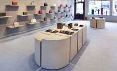Opening its doors this week on London's Mount Street, a new Valextra store marks the brand's flagship debut in the city. For the project, the Italian leather goods company enlisted POST-OFFICE, the London-based studio of Canadian designer Philippe Malo...