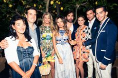 How many streetstyle stars can we fit in one frame? http://www.thecoveteur.com/erica-pelosini-wedding-capri/