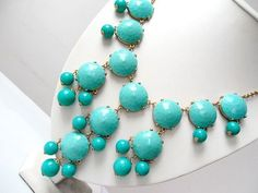 turquoise necklace, j crew replica (my daily outfit blogs I follow all purchased this product and are SHOCKED its identical to the 150.00 necklace!) To purchase soon!