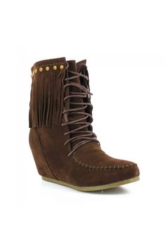 Bottines pocahontas marron - Bottines - Zonedachat Pocahontas, The Claw, Light Switch Covers, Natural Nails, Toe Nails, Types Of Fashion Styles, How To Look Better, Ankle Boots, Nails Design