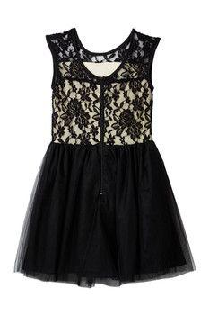 Penelope Tree Tara Lace Dress (Big Girls)