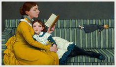 Fred Calleri (American, 1964) «Alice in wonderland» George Dunlop Leslie (British, 1835–1921) «Alice in Wonderland»