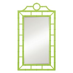 Chloe Mirror. Available in black, green, walnut, and white at shopstelladallas.com