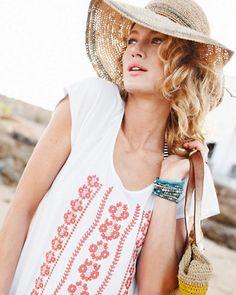 Flora Bella Serena Floppy Hat - Garnet Hill