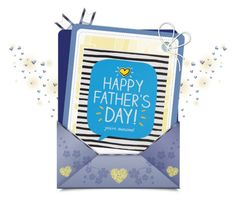 """""""♥♥♥ Happy Father's Day ♥♥♥"""" by shortyluv718 ❤ liked on Polyvore featuring art"""