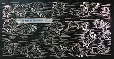 Antique 19c Japanese Ise Katagami Kimono Stencil Art Edo - Meiji Period 型紙 1696_ http://ancientpoint.com/inf/28535-antique_19c_japanese_ise_katagami_kimono_stencil_art_edo___meiji_period__1696.html